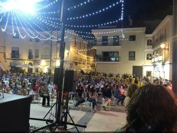 Fiesta popular en Monóvar