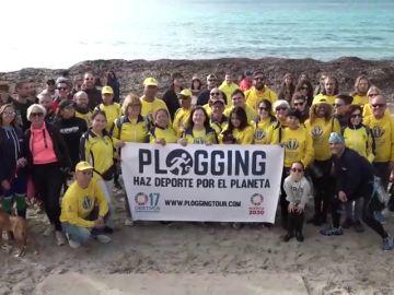 Once ciudades españolas se suman al reto Plogging Tour para recoger basura de espacios protegidos