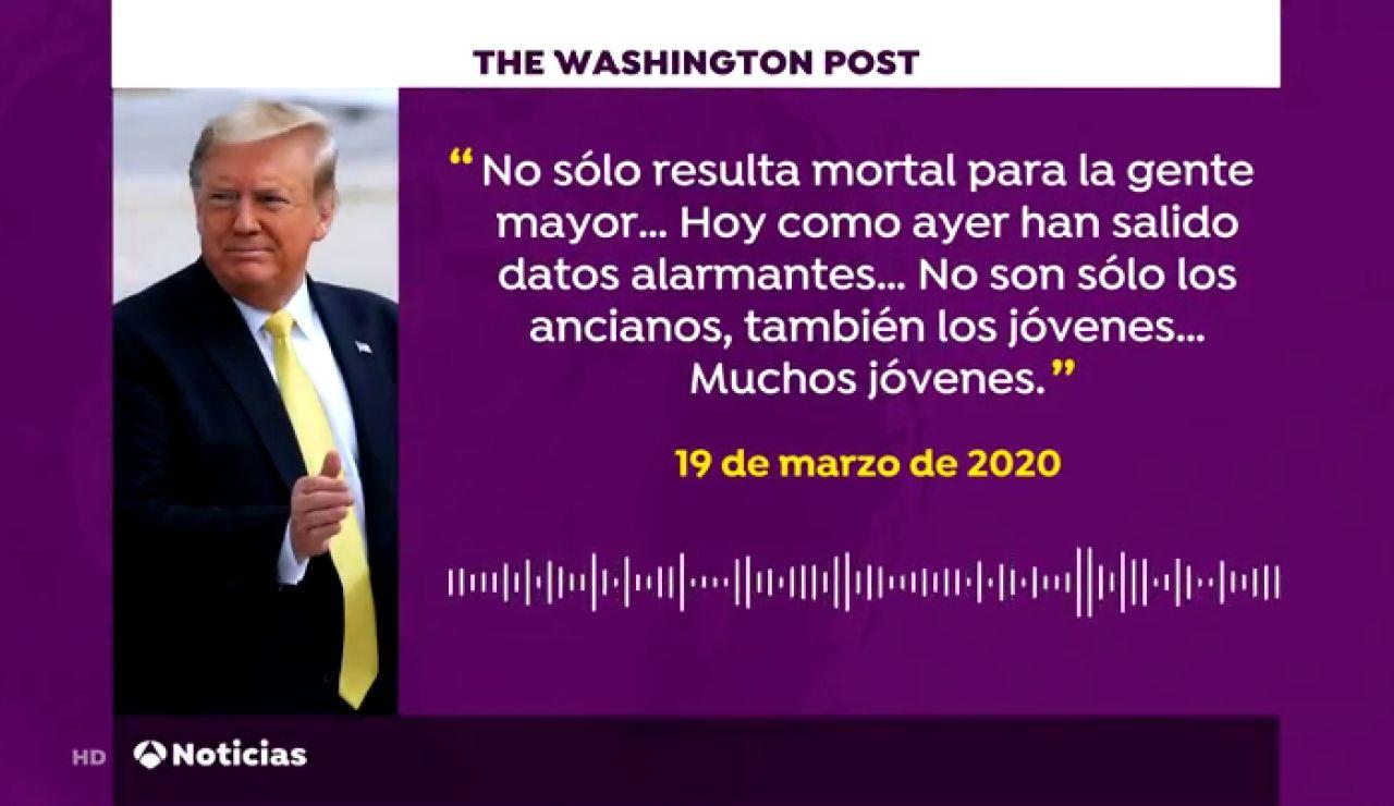"""Donald Trump sabía en febrero que el coronavirus """"mortal"""" pero minimizó adrede el peligro que suponía, según Bob Woodward"""