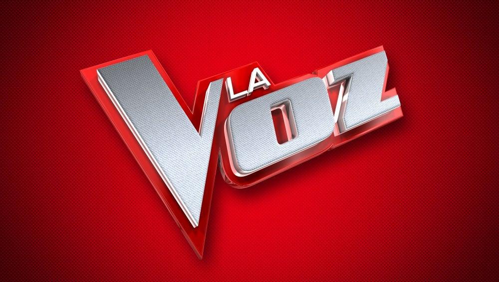 La voz (logo)