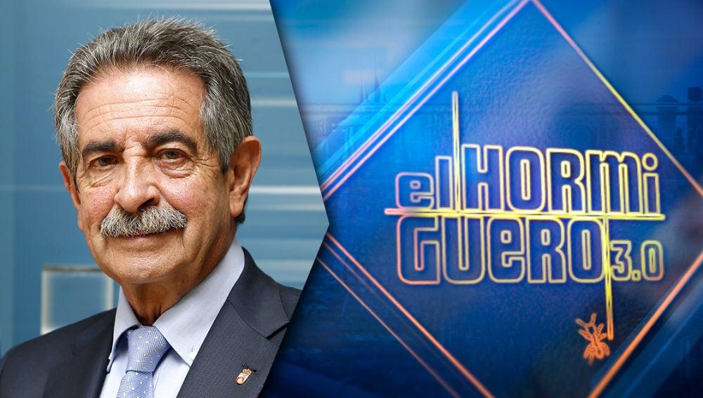 El martes recibimos en 'El Hormiguero 3.0' al presidente de Cantabria, Miguel Ángel Revilla