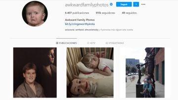 Instagram de @awkwardfamilyphotos