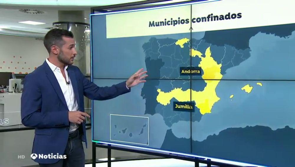El municipio murciano de Jumilla retrocede a la fase 1 por el aumento de casos de coronavirus