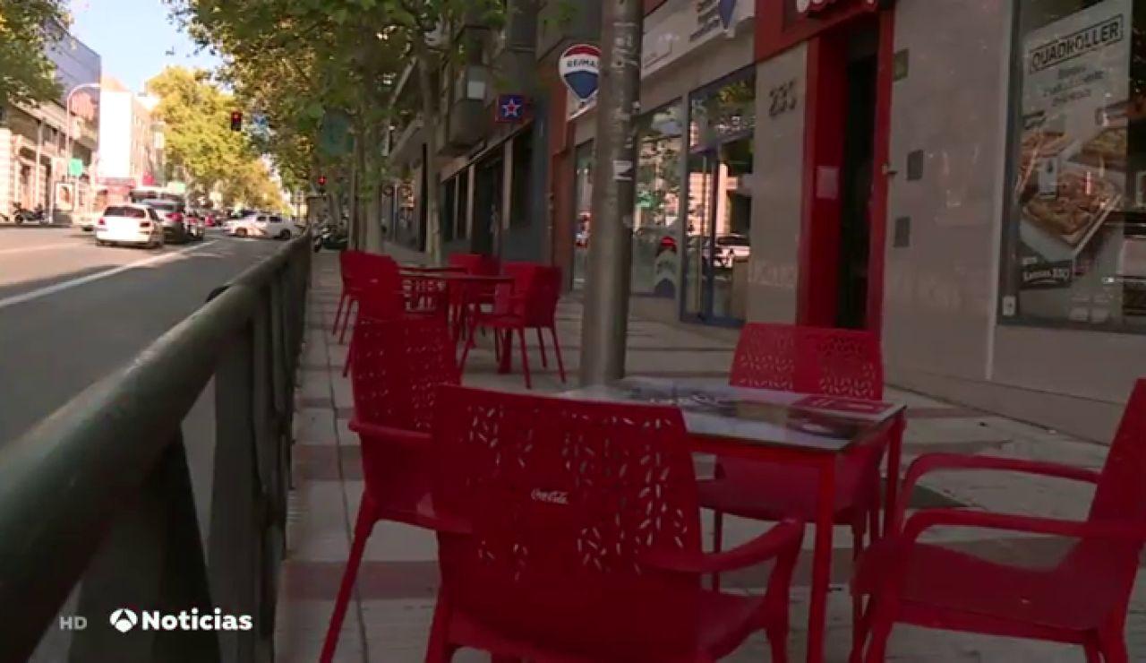 4.000 bares y restaurantes afectados por las restricciones en Madrid piden un plan de choque