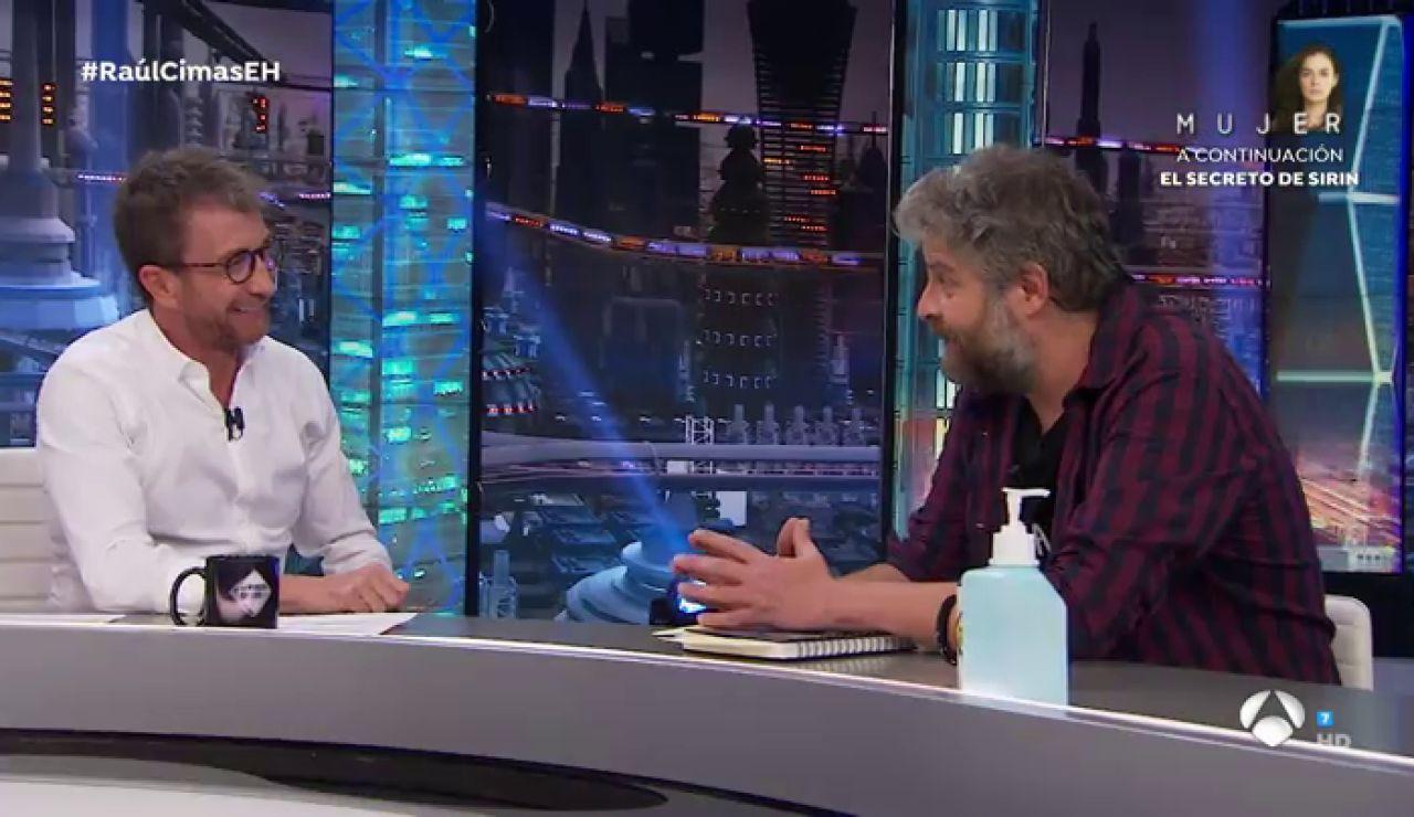 La divertida broma de Raúl Cimas a Pablo Motos sobre la barba de los pelirrojos