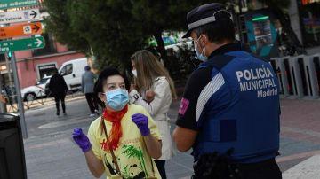 """Las primeras horas de restricciones por coronavirus en distritos de Madrid transcurren con """"normalidad"""""""
