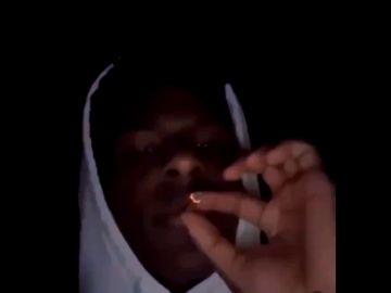 El polémico vídeo de Bronny, el hijo de LeBron James, fumando marihuana