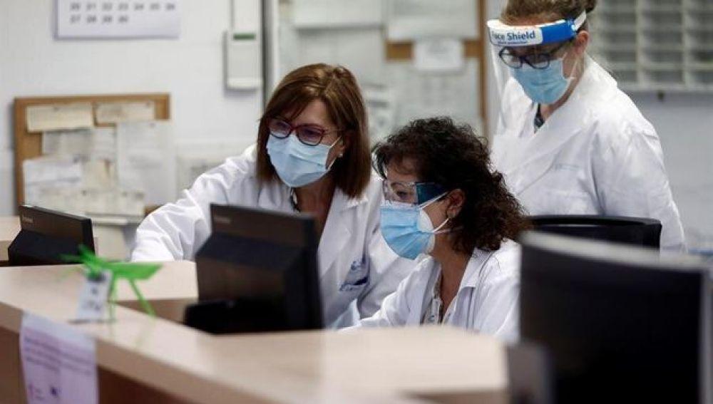 Médicos y enfermeras de Atención Primaria