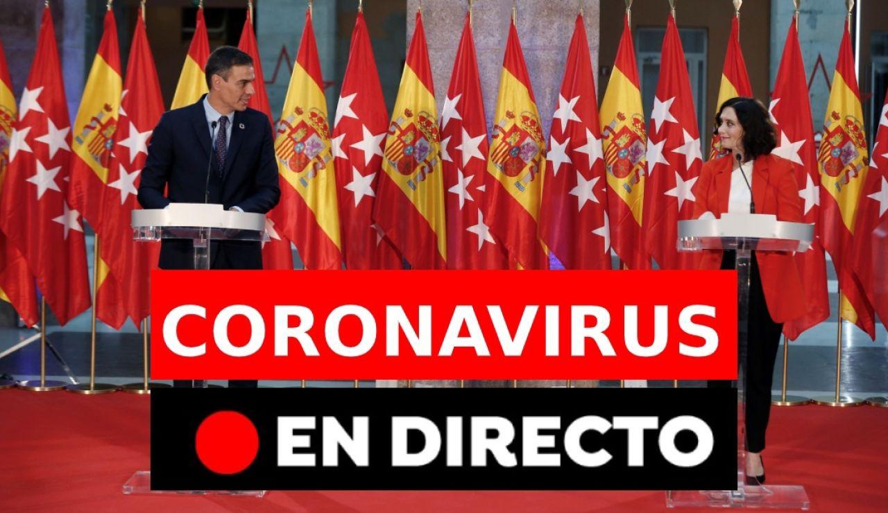 Coronavirus España: última hora del covid-19, en directo
