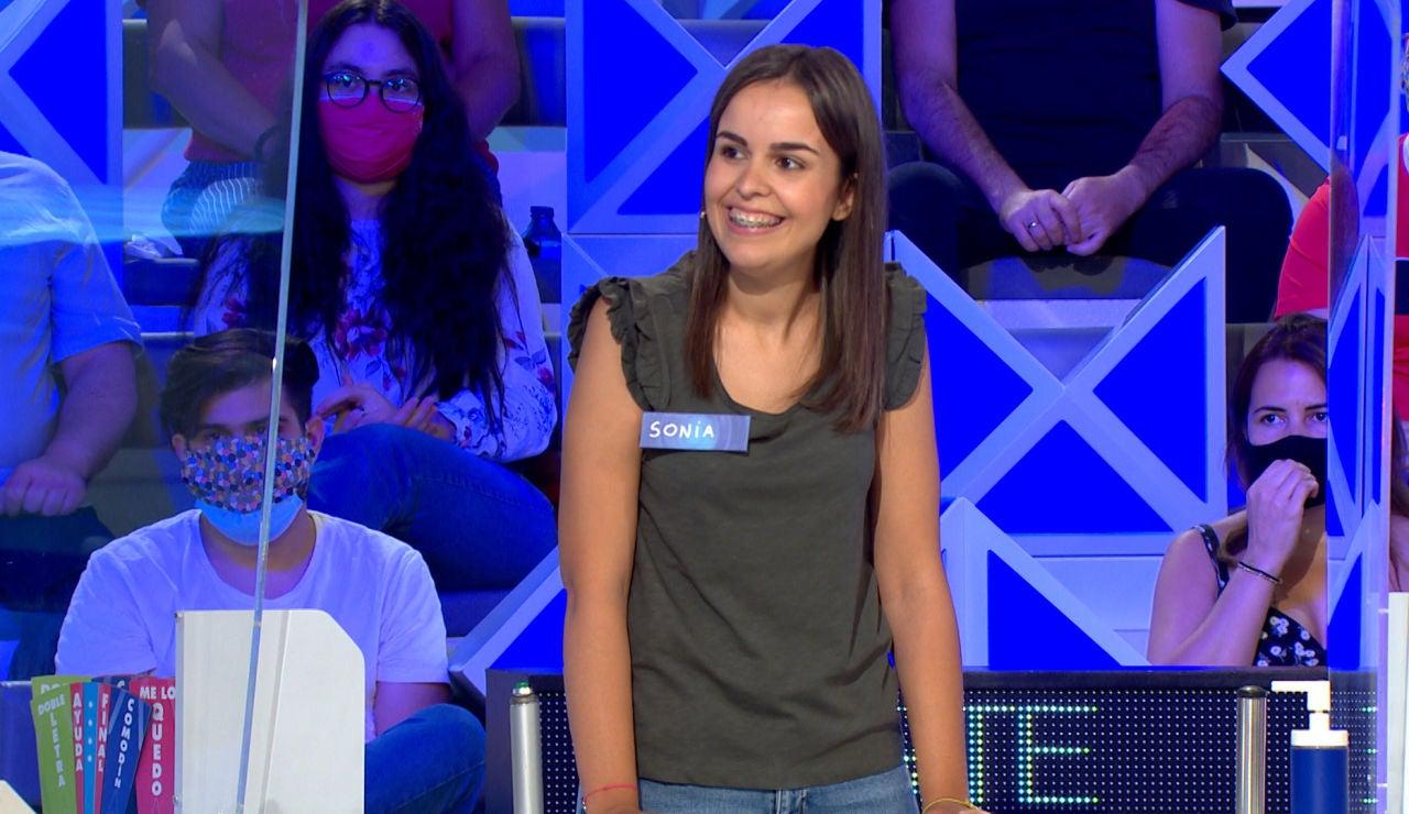 El increíble juego de Sonia, truncado por un fallo determinante en 'La ruleta de la suerte'