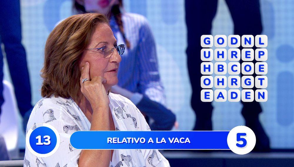"""El tropiezo del equipo azul en la 'Sopa de Letras': """"¡Qué torpe estoy!"""""""