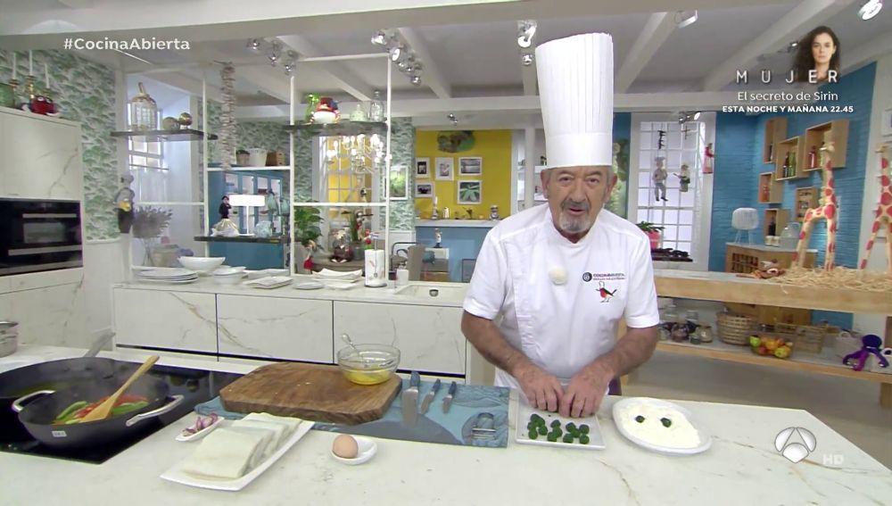 """Karlos Arguiñano, sobre uno de los ingredientes: """"Me pone"""""""