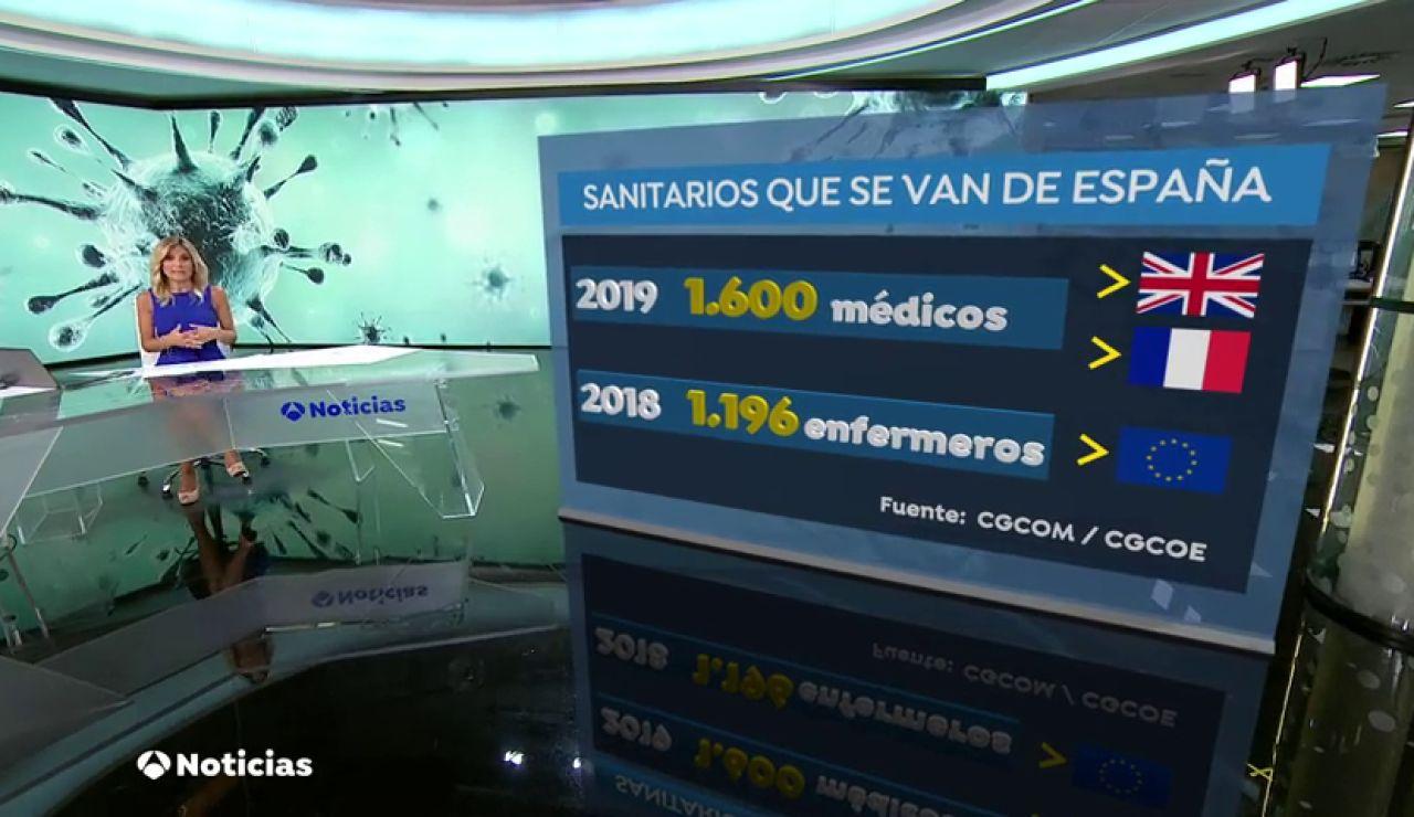 Cada año miles de médicos y enfermeros se van a trabajar fuera de España