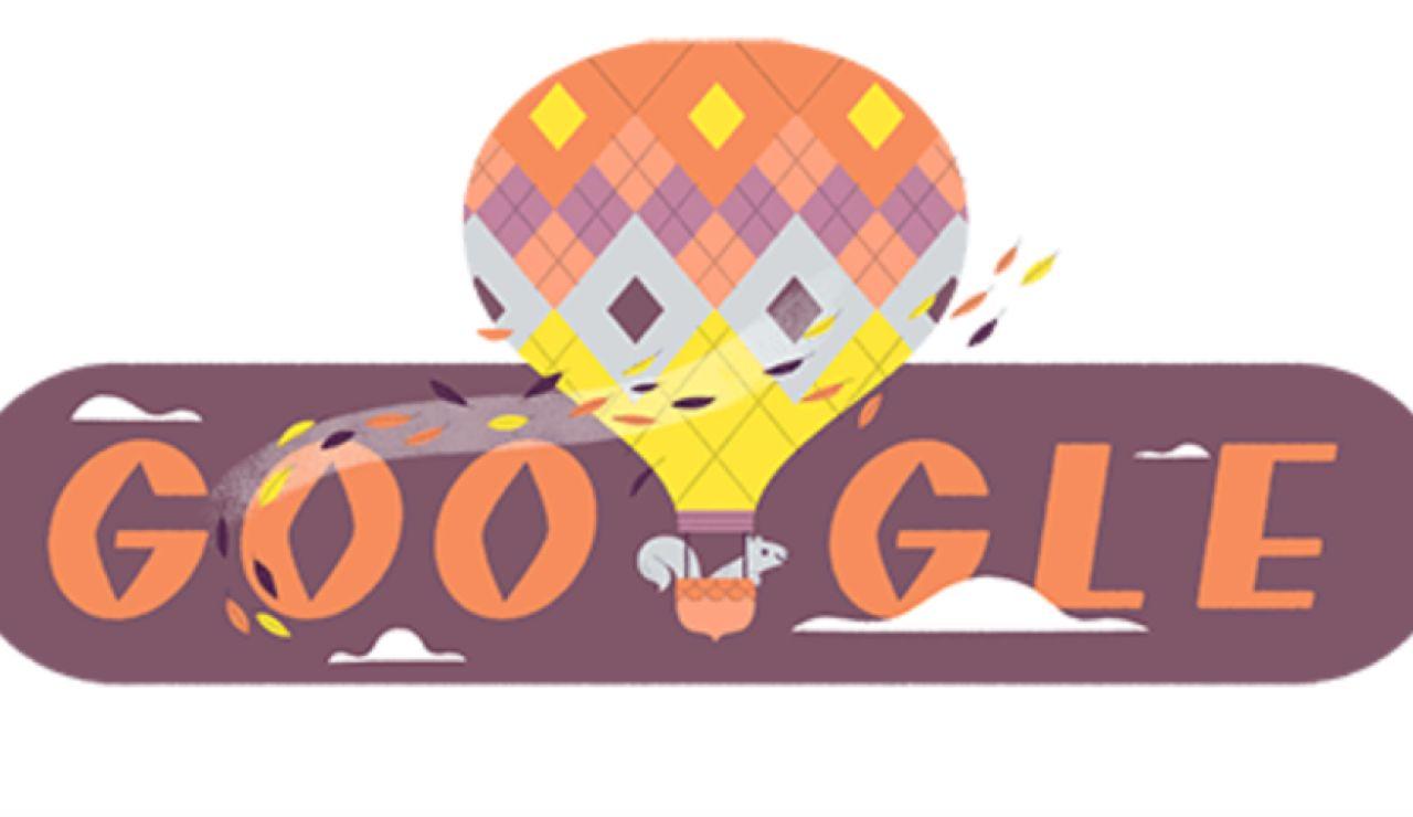 Google dedica su doodle al equinoccio de otoño 2020