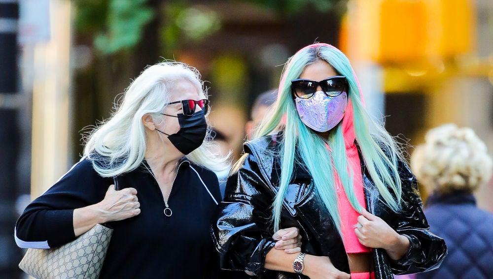 Lady Gaga y su madre Cynthia Germanotta