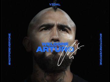 Arturo Vidal deja el Barcelona y ya es nuevo jugador del Inter de Milán por un millón de euros en variables