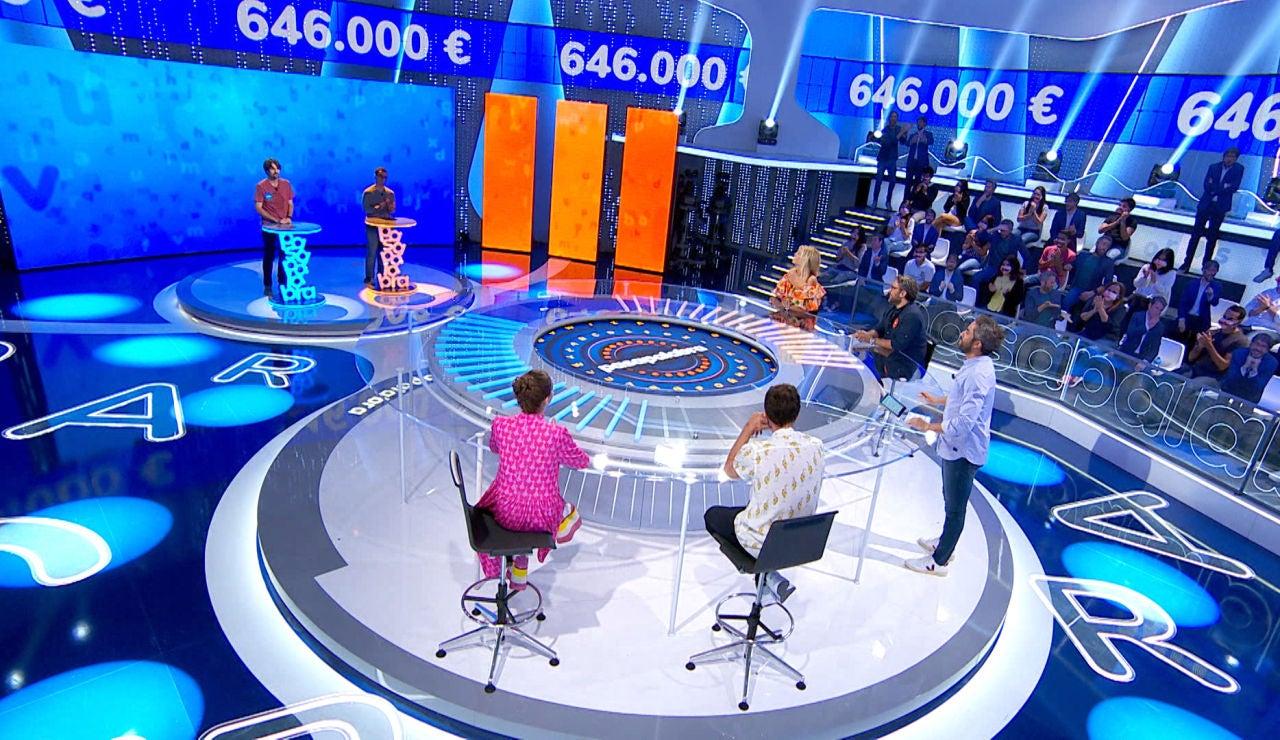 Emoción hasta el final: Nacho y Diego se la juegan para conseguir la victoria en 'El Rosco'