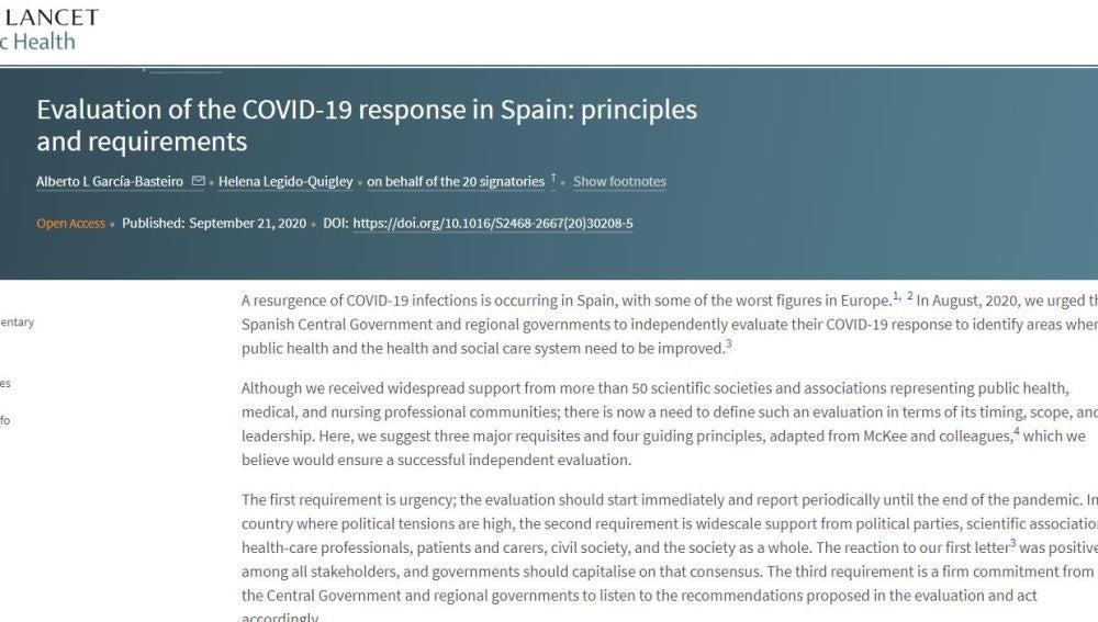 Científicos vuelven a pedir auditoría Coronavirus