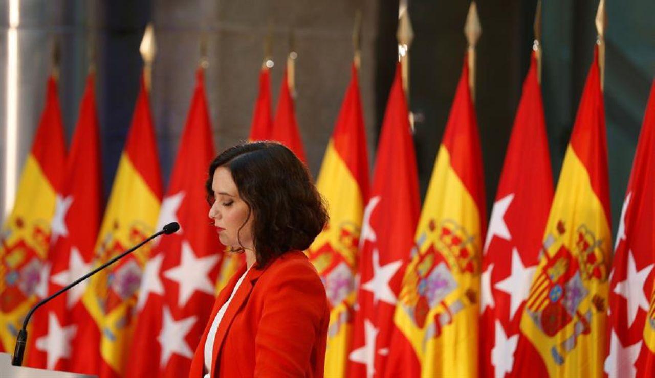 """Isabel Díaz Ayuso: """"No descarto restringir la movilidad en otras muchísimas zonas, esto no tiene que ver con ser ni ricos ni pobres"""""""