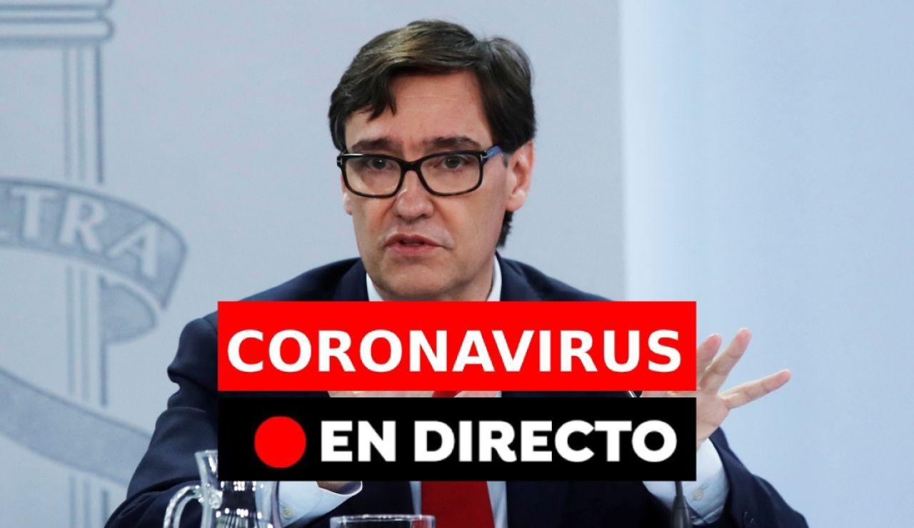 Coronavirus España: Última hora del covid-19 y noticias de hoy, en directo