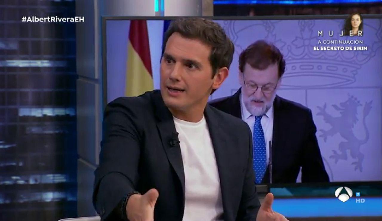 """Albert Rivera confiesa en 'El Hormiguero 3.0': """"Puedo decir que hoy tengo mejor relación con Rajoy de cuando estábamos en política"""""""
