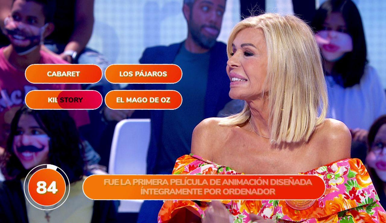 Bibiana Fernández ve truncado su debut en 'Pasapalabra' a pesar de sus ganas por concursar