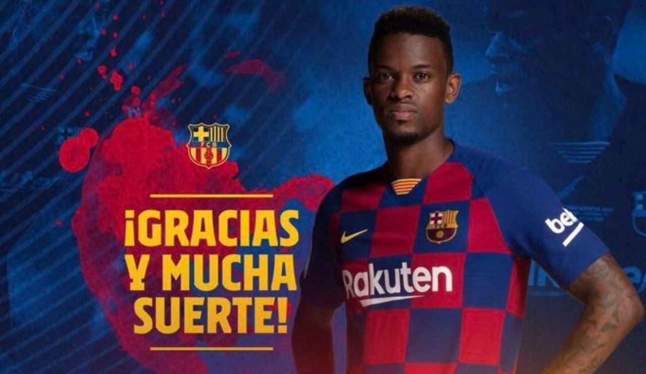 El Barcelona confirma el traspaso de Nelson Semedo al Wolverhampton inglés