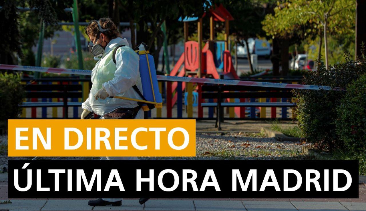 Coronavirus Madrid: Confinamiento, zonas restringidas y última hora, en directo