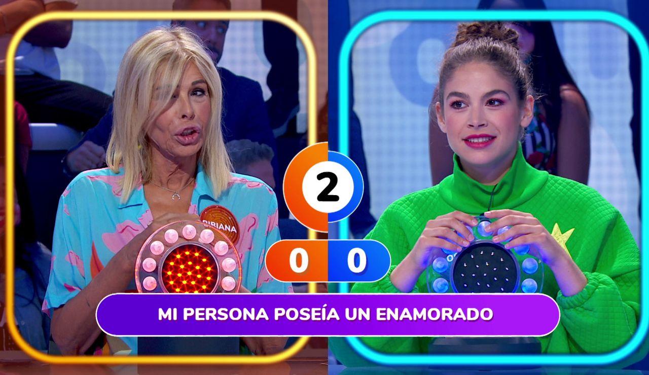 """¡Vergüenza me da!"", Bibiana Fernández se lamenta al quedarse sin segundos en 'La Pista'"