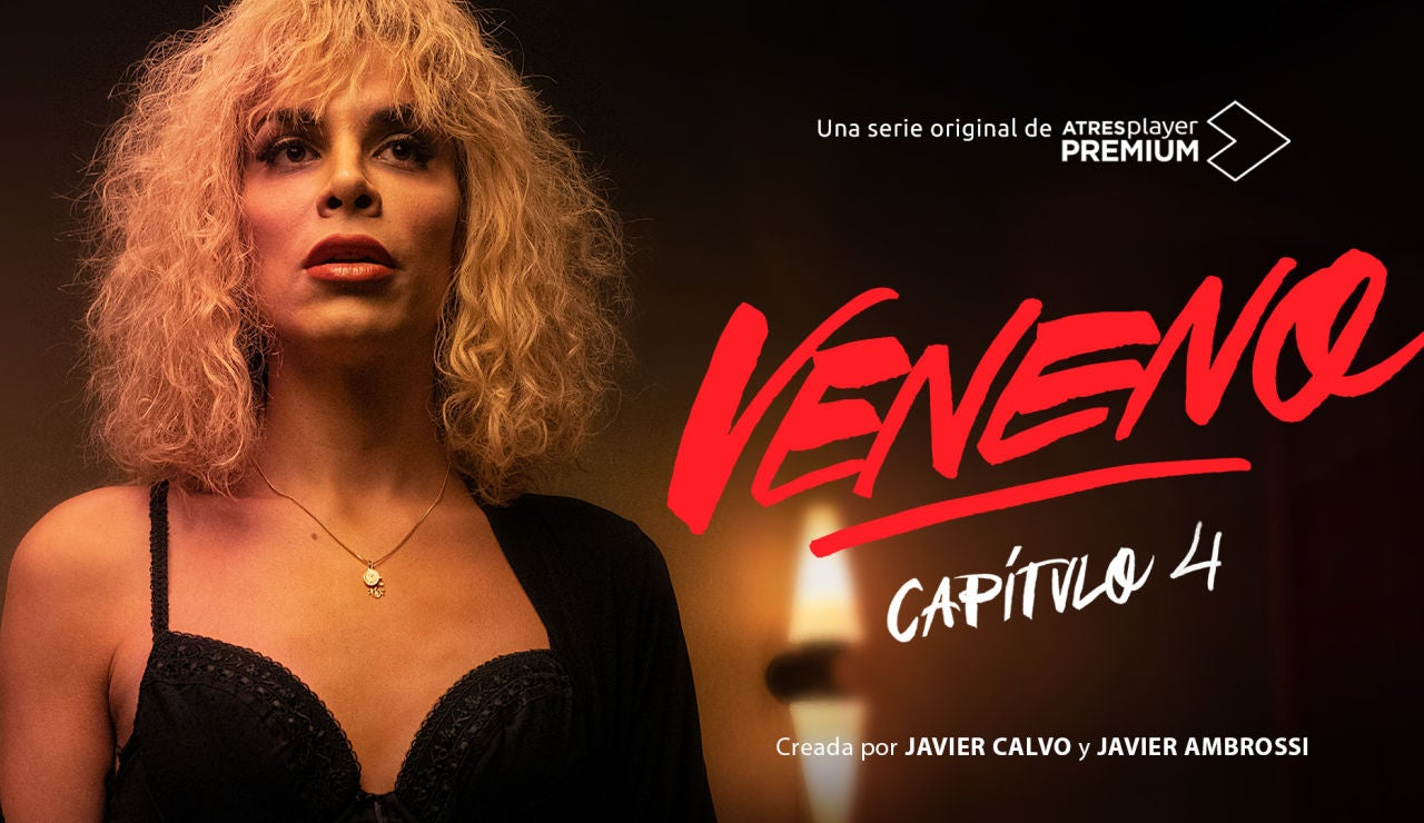 ATRESplayer PREMIUM estrena este domingo el cuarto episodio de 'VENENO' con banda sonora de Amaia