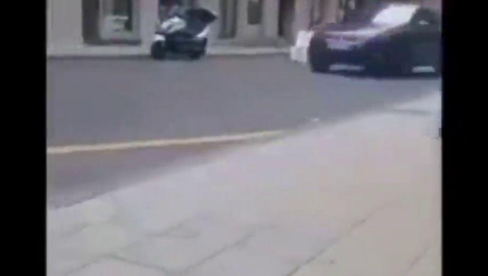 Identifican a un conductor que usó las calles de La Laguna, en Tenerife, como un circuito