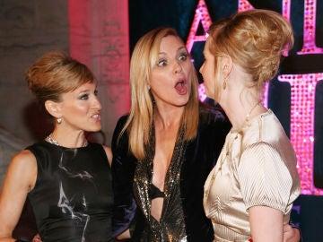Las actrices de 'Sexo en Nueva York', Kim Cattrall, Cynthia Nixon y Sarah Jessica Parker