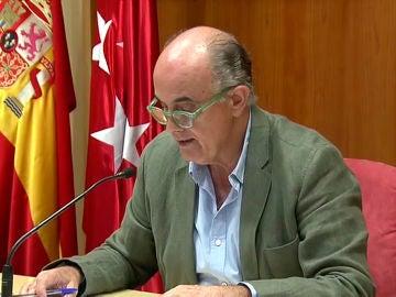 El viceconsejero de Sanidad de la Comunidad de Madrid, Antonio Zapatero