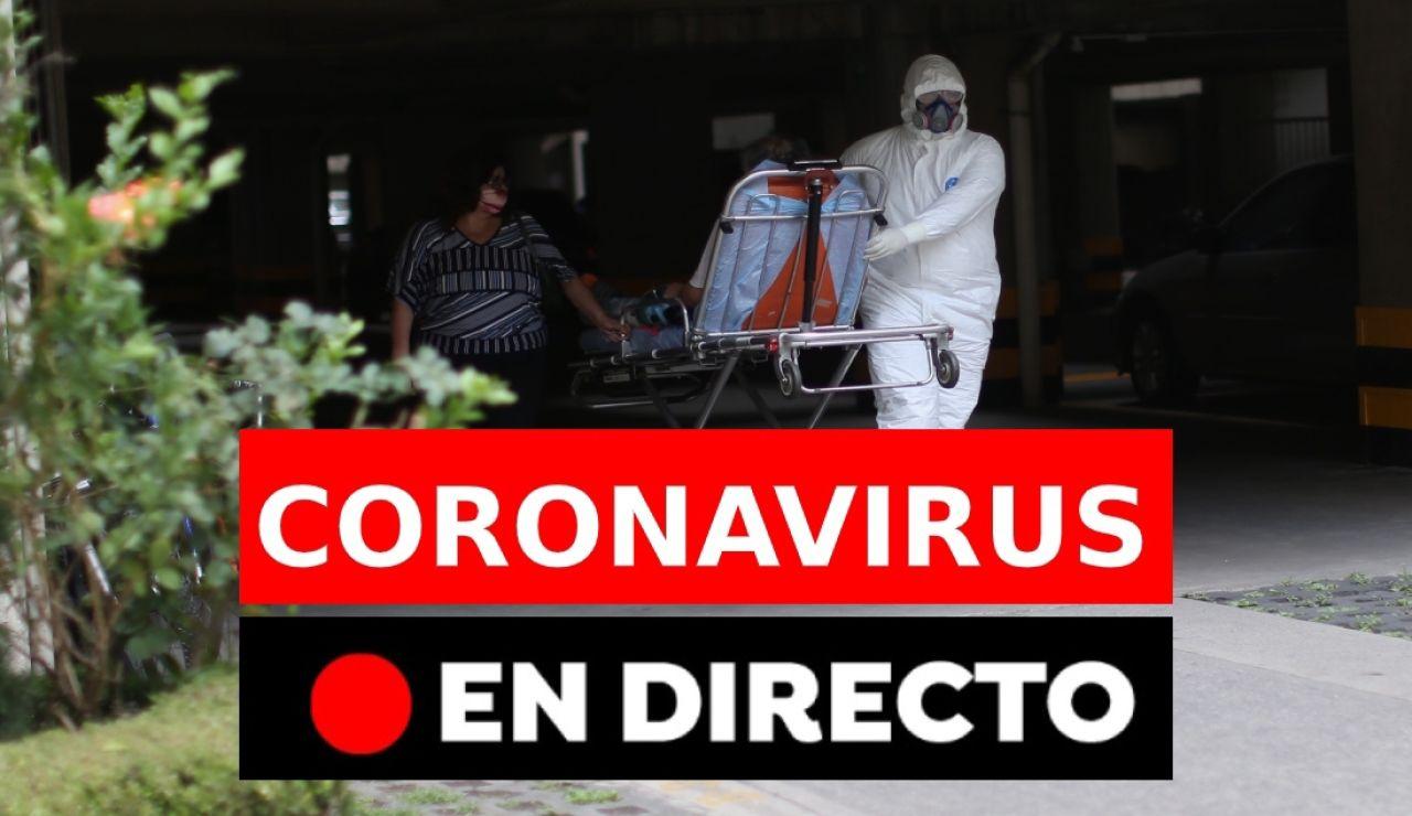 Coronavirus España: Última hora, datos y noticias hoy, en directo