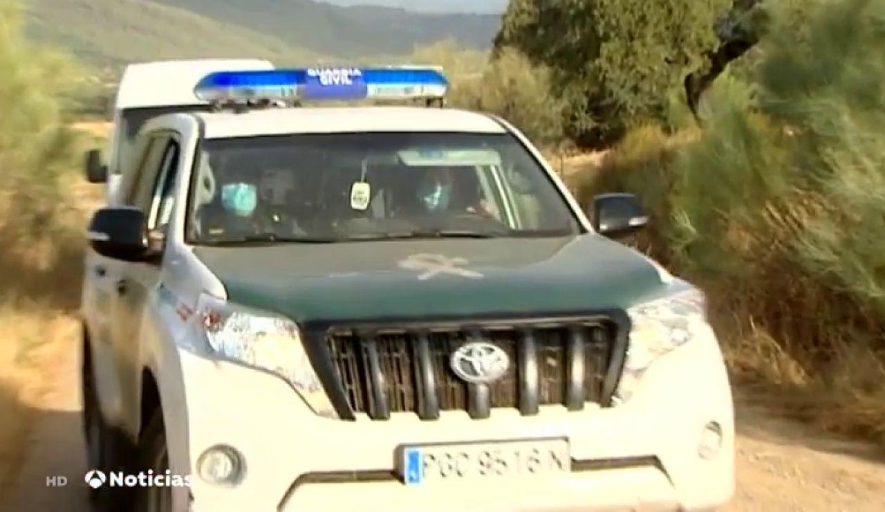 Registran otra finca del detenido por la muerte de Manuela Chavero en busca de restos biológicos
