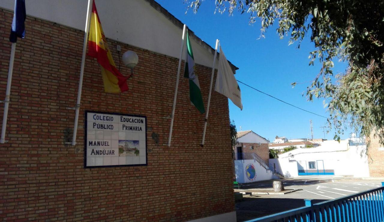 Un padre amenaza a una profesora en el Colegio Manuel Andújar, La Carolina (Jaén)