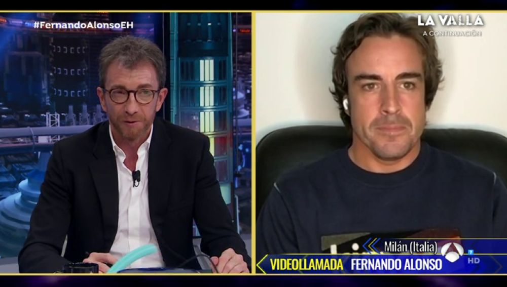 Disfruta de la entrevista al completo de Fernando Alonso en 'El Hormiguero 3.0'