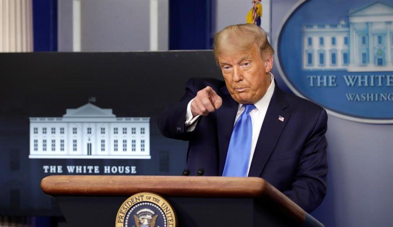 Donald Trump no se compromete a un traspaso pacífico del poder si pierde las elecciones en Estados Unidos