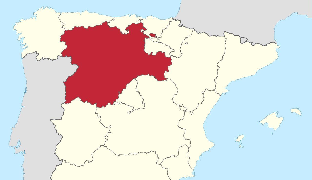 Castilla y León propone limitar la movilidad desde Madrid. Mapa de Castilla y León