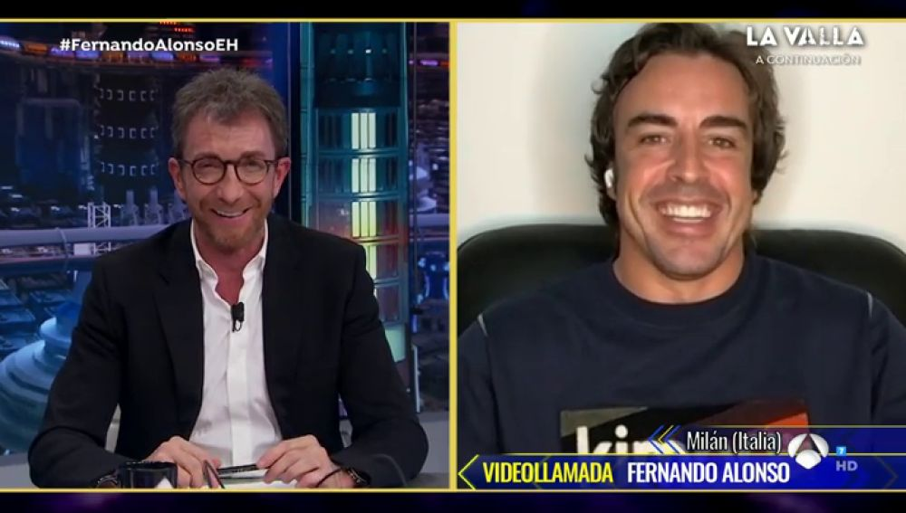 Pablo Motos explica el motivo por el que Fernando Alonso no ha podido estar en el plató