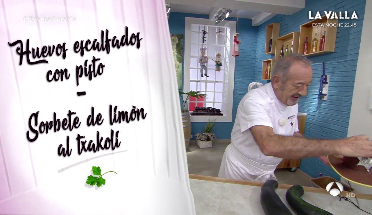 El menú del día con postre de Karlos Arguiñano