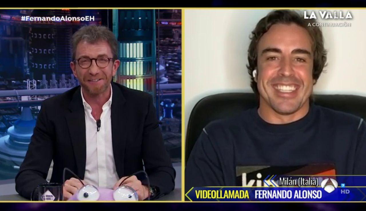 """Fernando Alonso desvela su parte más competitiva en 'El Hormiguero 3.0': """"Odio perder"""""""