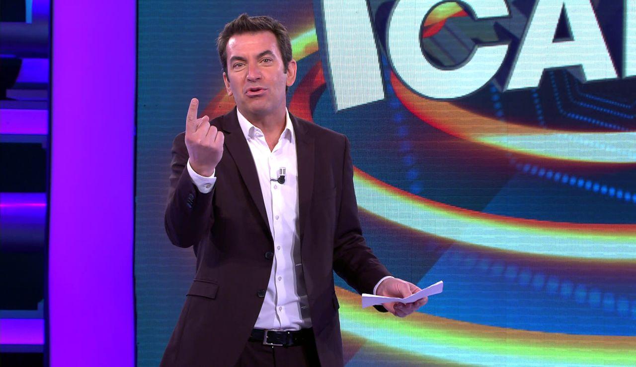"""La original lista de Arturo Valls para que los concursantes de '¡Ahora caigo!' """"renueven"""" sus deseos"""