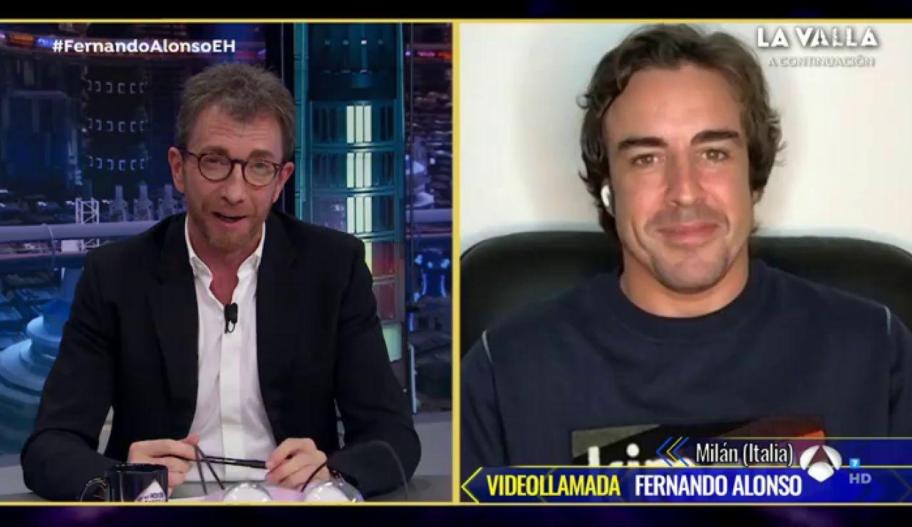 Fernando Alonso confiesa en 'El Hormiguero 3.0' los motivos por los que ha regresado a la Fórmula 1