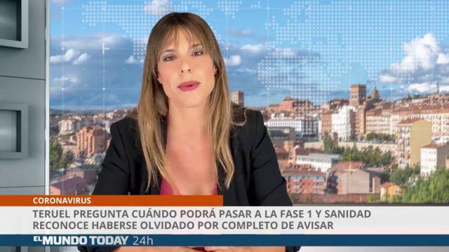 Teruel pregunta cuando podrá pasar a la fase 1 y Sanidad reconoce que se olvidó de avisar