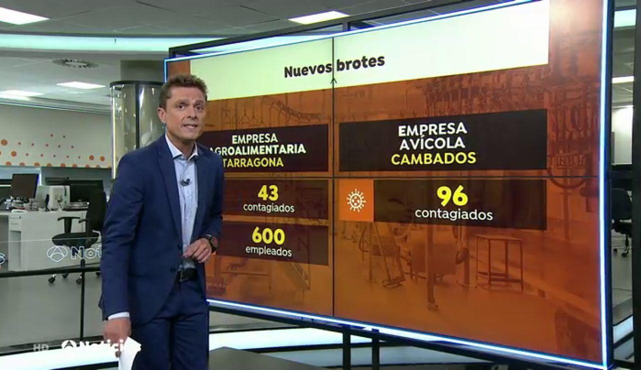 REEMPLAZO Un brote de coronavirus en una empresa avícola de Cambados (Pontevedra) deja al menos 96 contagiados