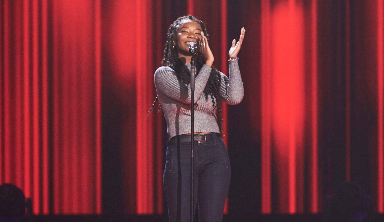 Dayana Emma recibe el poder de la segunda oportunidad de 'La Voz'