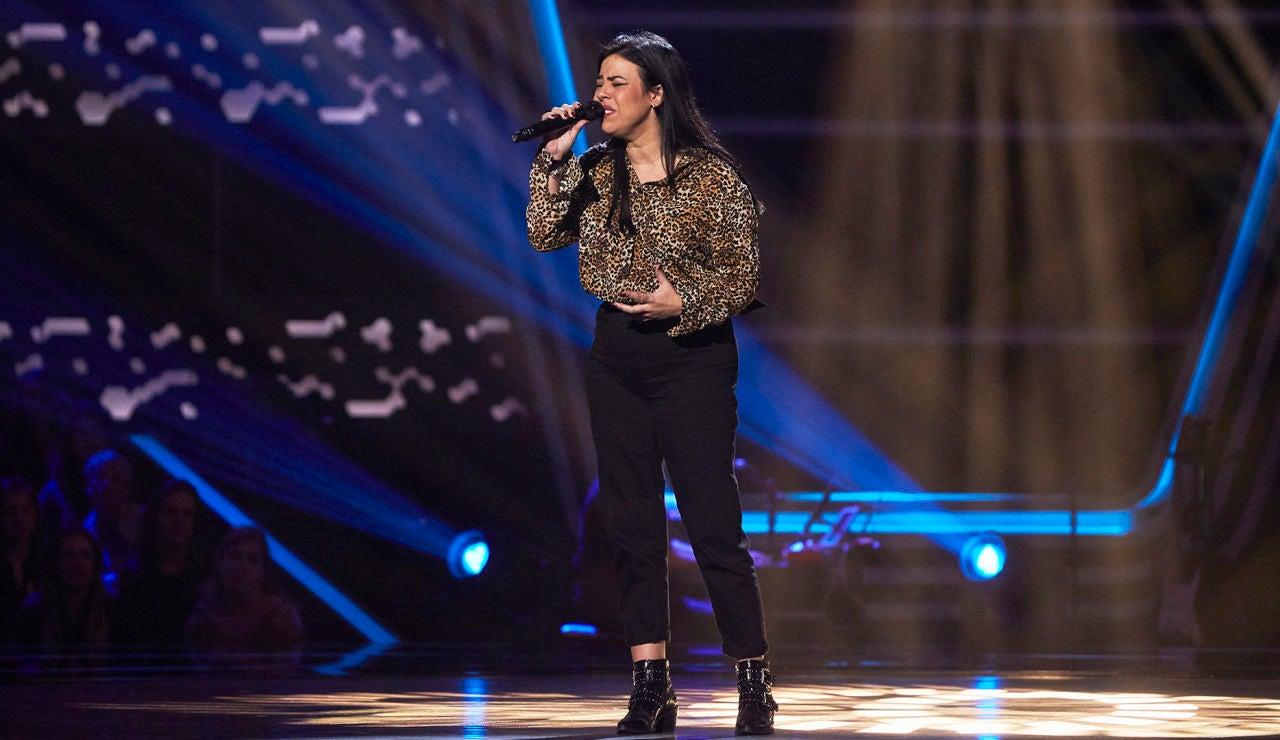 Rocío Silva cautiva interpretando '90 minutos' en las Audiciones a ciegas de 'La Voz'