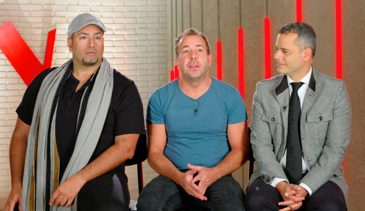 """Swingstar: """"Somos tres tíos muy diferentes, con  voces muy diferentes, pero a la hora de empastar parece que funciona"""""""