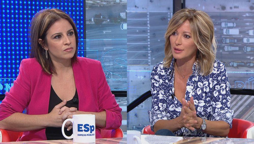 Adriana Lastra en Espejo Público